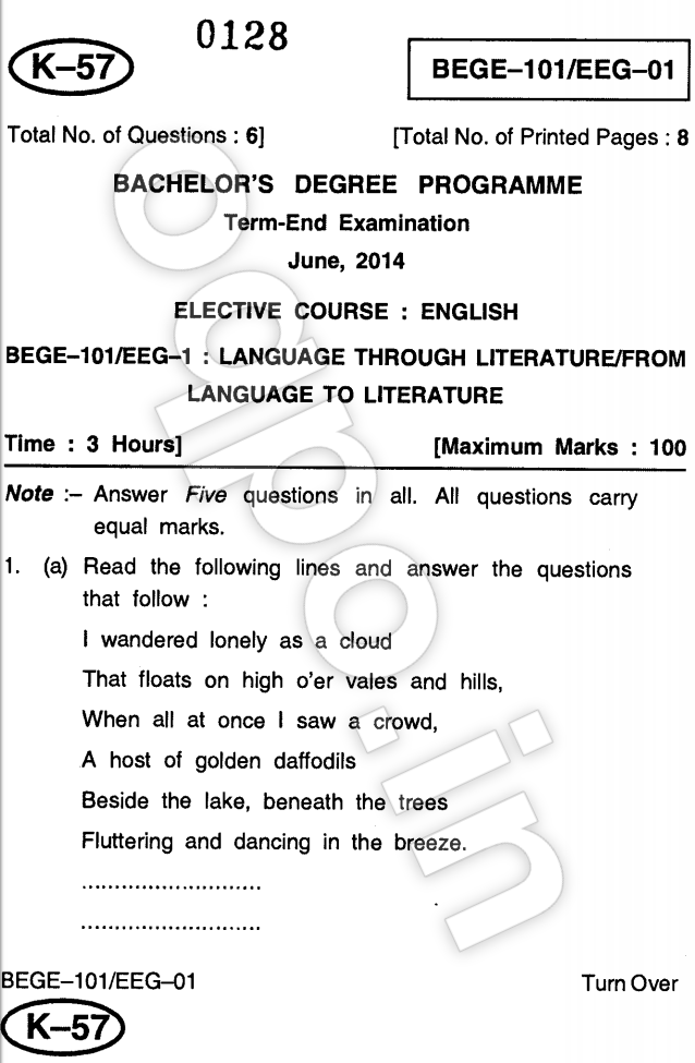 Phd coursework question papers