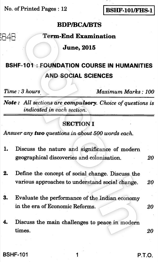 bshf 101